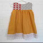 'Keen as Mustard' Girls Dress, size 2