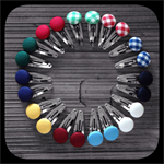 School Uniform and House Colours: Small Snap Clips