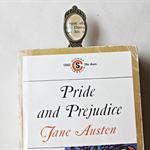 Mr Darcy Bookmark Jane Austen Pride and Prejudice Literature Clip Upcycled
