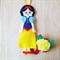 Snow White Princess Hair Clip Holder