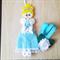 Cinderella Princess Hair Clip Holder