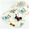 Baby Bib - own label, Kittens Cotton Fabric, Bamboo Toweling, Snap Fastened.
