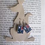 Australia Day Earrings