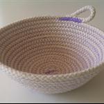 Purple Miso Rope Bowl
