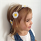 Baby/girls daisy flower crown headband