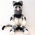 'Koby' the Sock Kitty - *ready to post*