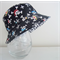 Boys summer hat in cool pirate fabric