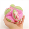 Girls Rare Rose Fabric Grasp Ball For Baby & Toddler Great Baby's First Ball Toy