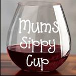 Mums Sippy Cut Vinyl Decal Sticker