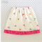 Origami Oasis Skirt - Colourful Birds with Pink Butterfly Trim - Size 3