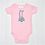 Bunny onesie in pink Sizes 0m - 24m