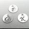 Sterling Silver Custom Initial Charm