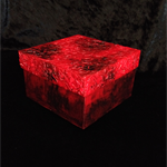 Red Dragon Scales Decorated Box (Eggshell Mosaic)