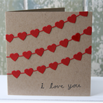 I love you Gift Card ~ Mother's Day ~ Mother's Birthday ~ Ready to Post