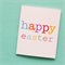 10 Easter cards, tags or mini cards, gift tags Happy Easter