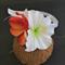 Frangipani / Hibiscus Wrist Corsage