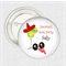 10 Medium badges - hens party personalised badges - Margarita