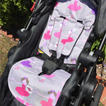 Ballerina Universal Pram Liner with matching strap covers