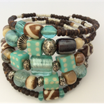 One of original blue brown tone bracelet wrap around view store other bracelets