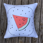 Watermelon Organic Cushion Cover