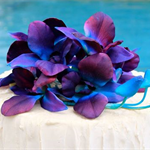 Singapore Orchid Cake Picks Topper