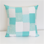 Pretty patchwork - turquoise