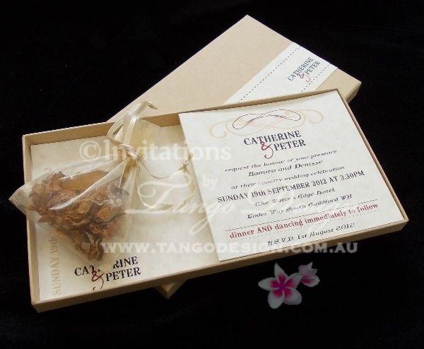 Wedding Invitation In A Box: Unique Birthday Box Invitation KIDS & ADULT Party SAMPLE