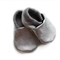 Silver Leather Baby Shoes