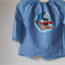 For age 2-3 toddler size art smock,Thomas train.