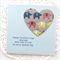 MUM Mother's Day card elephant paper heart
