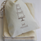 Muslin Bags. Just Married. Pack of 10. Wedding Thank You Favour Bags.