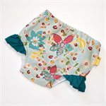 Floral Nappy Cover - Size 2