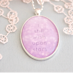 wish on stars pendant