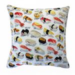 SUSHI cushion cover sushi pillow sashimi Japanese food cushions sushi train