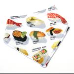 Sushi bandana bib baby dribble bibs kitsch girl boy girl boys babies