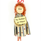 Dolly Peg Fridge Magnet Peg Doll - with Verse My Mother My Friend.