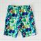 Boys Cotton Shorts  Multi Colour  Geometric Triangle Design Size 4-6