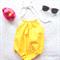Rubber Duck Baby Girl Romper size 00  - romper, birthday, newborn, girl, yellow