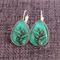 Willow~Teardrop Lever Back Earrings
