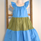 Handmade Cotton Childrens Dress Size 7