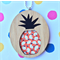 Wooden Pineapple Pendant
