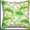 Venice Lily Pad - Floral Cotton Cushion / Pillow