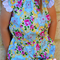 Summer Play suit- Size 3