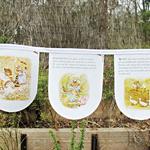 Beatrix Potter Bunting Wall Hanging Tale of Tom Kitten Children Animal