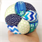 Boys Designer Fabric Grasp Ball For Baby & Toddler