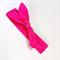 Knot Hair Wrap- Fuschia.  Girls size