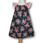 SIZE 1 Navy Roses Dress