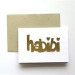 'Habibi' Card