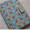 A5 Diary or Notebook Cover - Aqua / Green