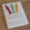 Candle Happy Birthday Card - Personalise it yourself